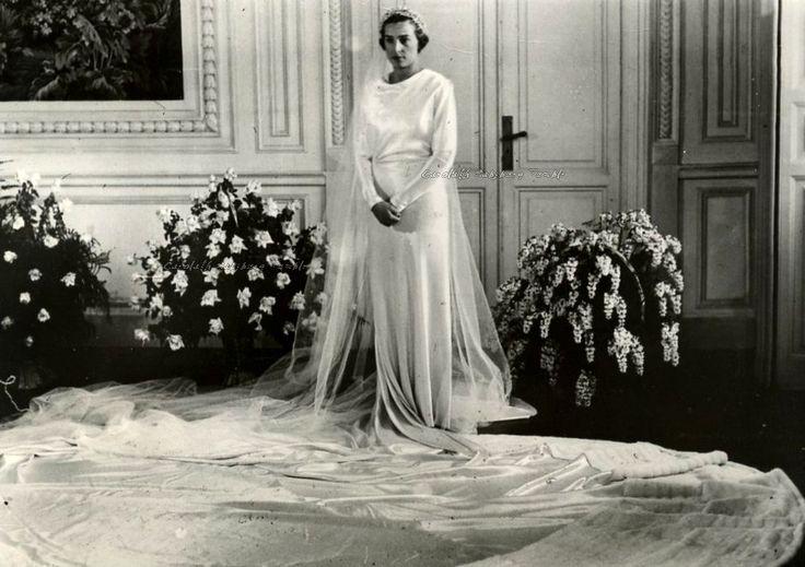 INFANTA BEATRIZ ISABEL FEDERICA ALFONSA EUGENIA CRISTINA MARIA TERESA BIENVENIDA LADISLAA DE BORBÓN Y BATTEMBERG & ALESSANDRO TORLONIA  14 DE ENERO 1935