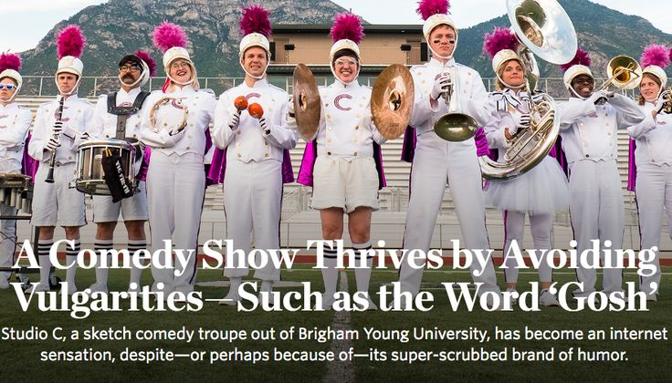 """Wall Street Journal Praises Studio C for its """"Super-scrubbed Brand of Clean Humor"""""""
