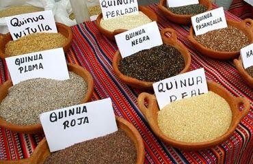La quinoa, una alternativa al arroz o la pasta http://dietacoherente.com/2014/01/22/la-quinoa-una-alternativa-divertida-la-pasta-y-el-arroz/
