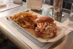 a favorite lobster roll in NYC @Mermaid Inn