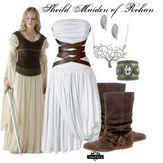 "Lagertha Lothbrok Costumes | Sheild Maiden (The Lord Of The Rings)"" by urbansouthuna on Polyvore"