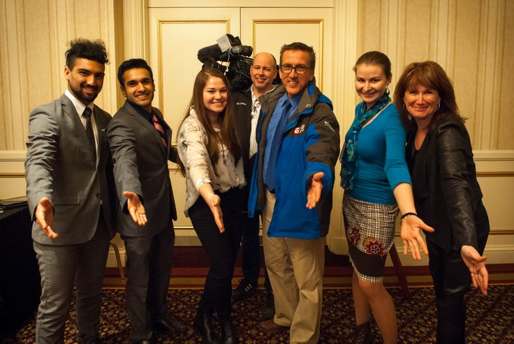 Our Social Media Team for the US Russia Innovation Conference + Tim Sherbo from KSTP 5 #innovation #image #social