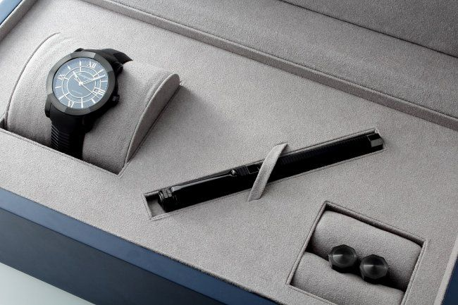 Limited Edition Montegrappa NeroUno Watch, Pen, : Lot 2695 @ Baer & Bosch Auctioneers