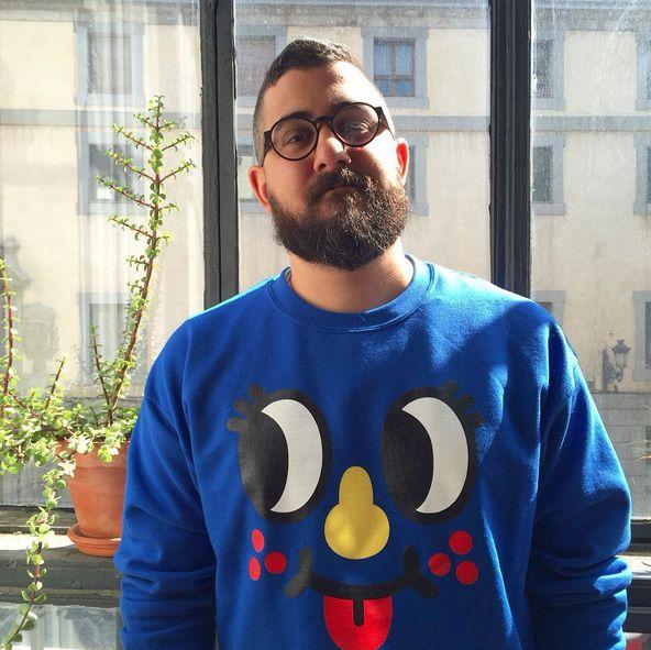 """Here I am wearing my Inky sweatshirt!  """"Hello hello"""""""