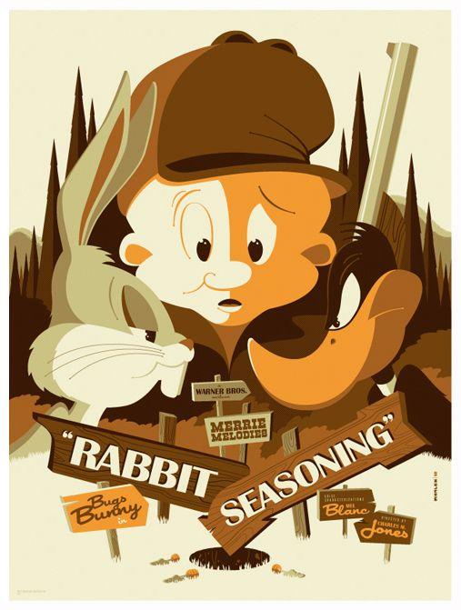 mondo: rabbit seasoning by strongstuff.deviantart.com on @deviantART