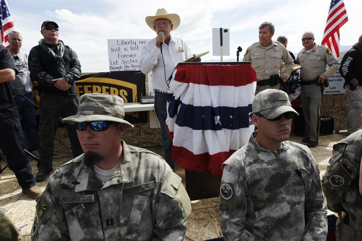effin politics: No Federal Law Enforcement Takedown of White Militias while a Black Man is President