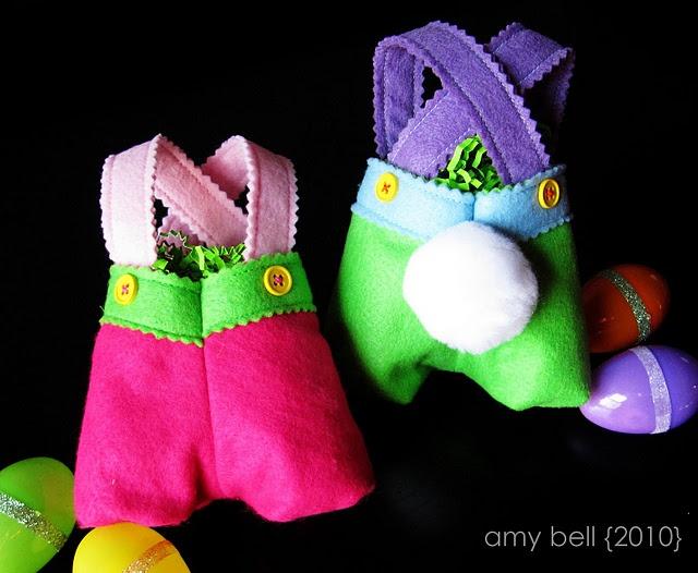 Funny bunny treat bags