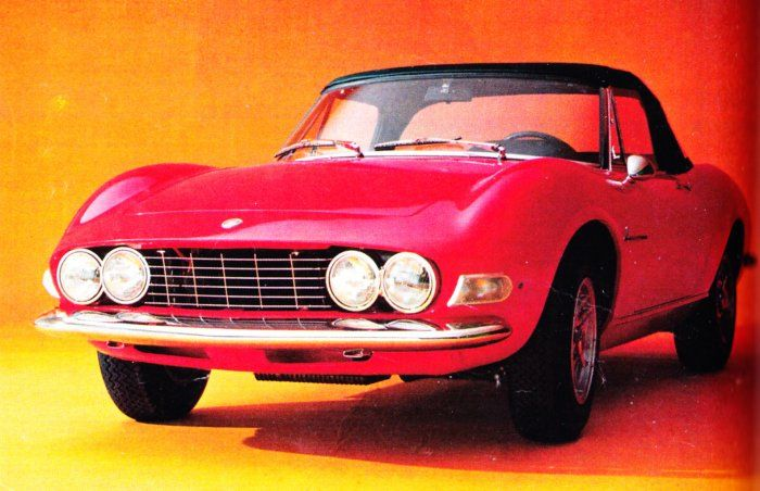 Even better when it's the FIAT Dino Spider