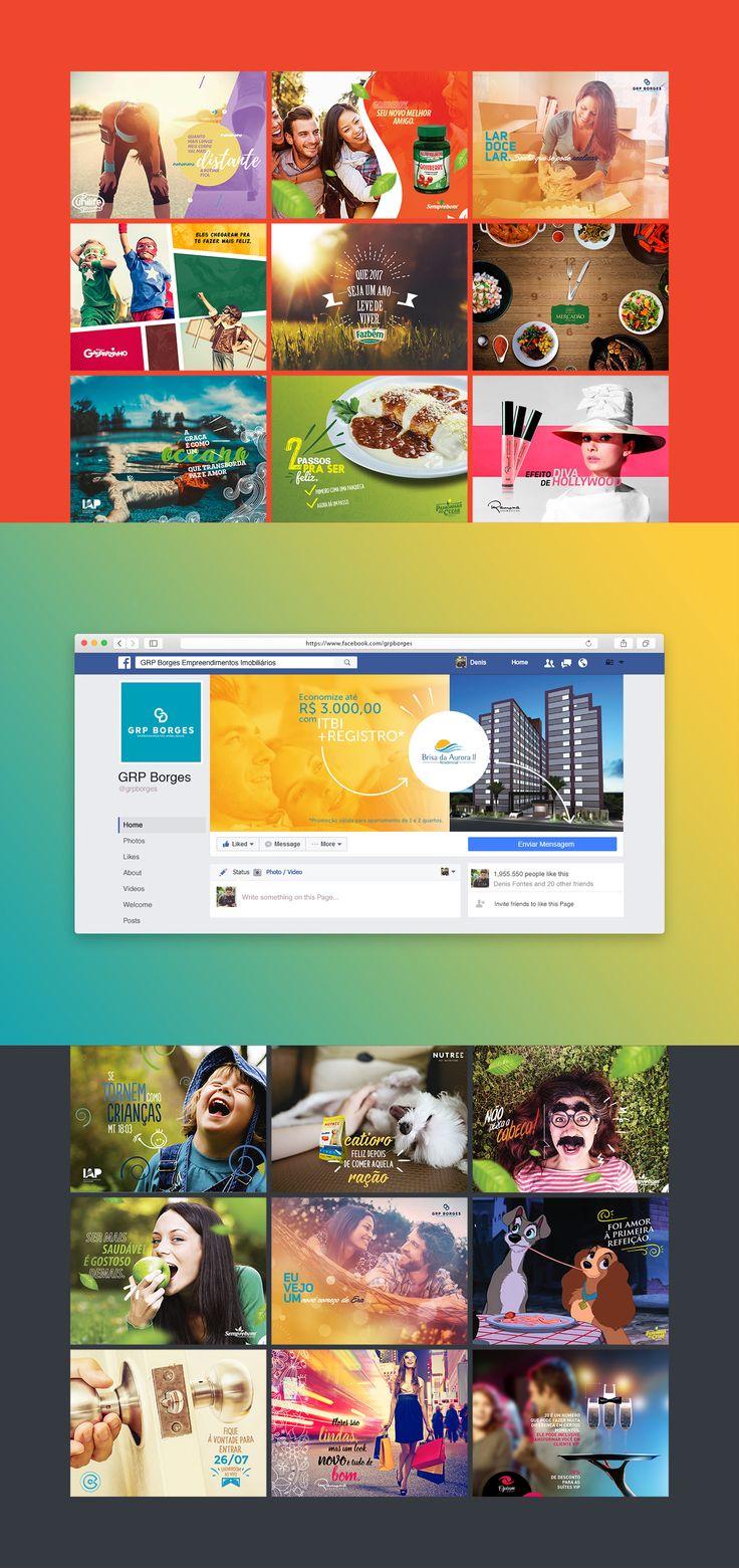 Posts ou cards para redes sociais. (Mídias digitais, mídias sociais, social media, facebook)