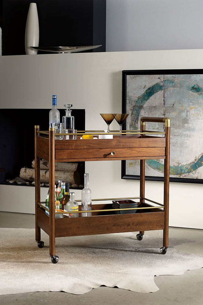 This mid century modern style bar cart is fun indoors and out  Just be sure  it gets back inside during inclement weather. 8 best CHEERS  to New Bar Furniture images on Pinterest   Bar