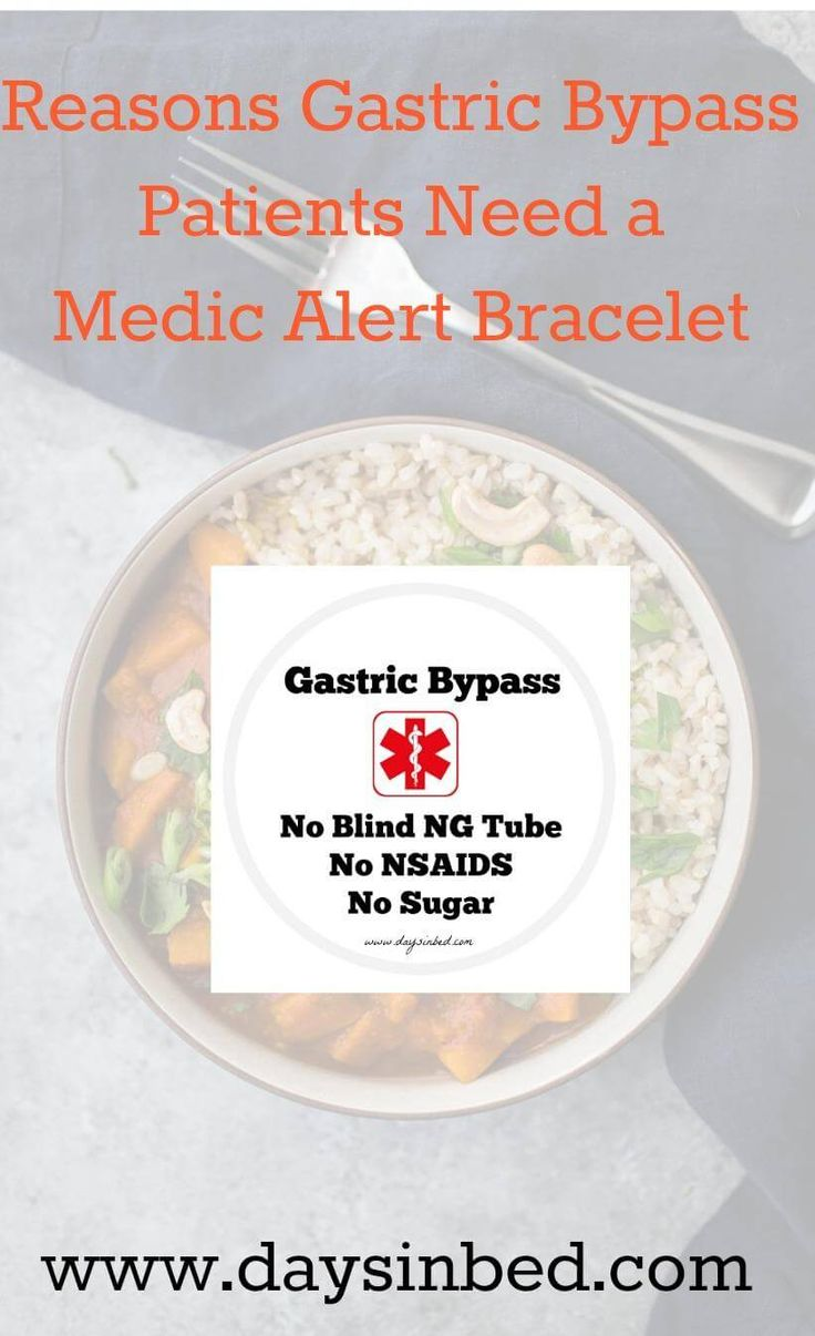 gastric bypass bariatric surgery gastric sleeve weight loss surgery medic alert bracelet health Why Gastric Bypass Patients Need A Medic Alert Bracelet Having a Gastric Bypass is major surgery and leads to life changing circumstances. As a consequence it is important to always wear a medical alert bracelet… View Post