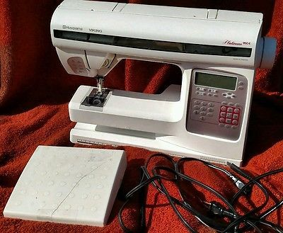 Husqvarna Viking Platinum 950E Embroidery Sewing Machine   Pedal Only