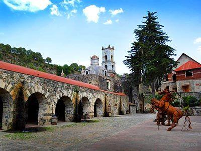 Hacienda Santa María Regla en Pachuca, Reserva de Hoteles en Pachuca