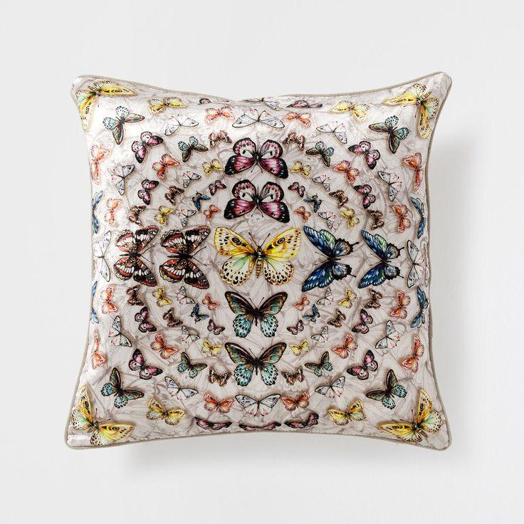 Coussin Papillons Zara Home Maison Et Coussins D Coratifs