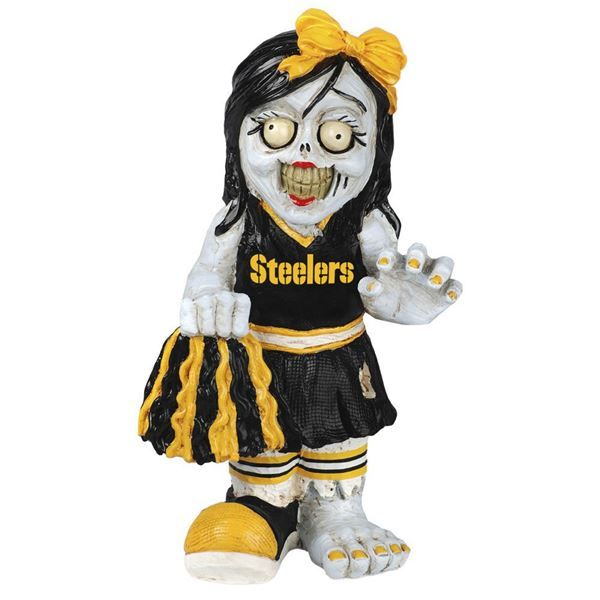 Picture of Pittsburgh Steelers Cheerleader Zombie Figurine