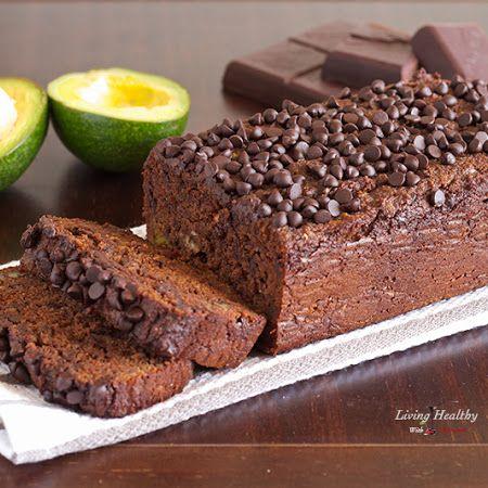Paleo Avocado Chocolate Bread- gluten, grain and dairy free