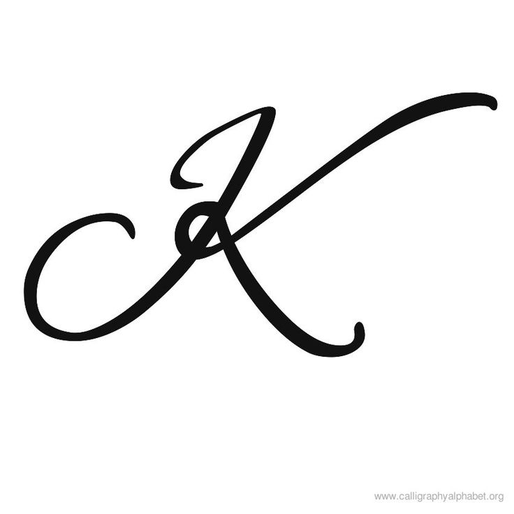 gothic k letter | Calligraphy alphabets K to print. Alphabet K in calligraphy designs ...