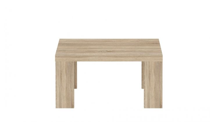Couchtisch Mona I Hochwertige Möbelserie passend zu den Wohnprogrammen in Sonoma Eiche 1 x Couchtisch ABS an den Seitenkanten (Stirnholz) Maße Tisch:  B/H/T 70 x...