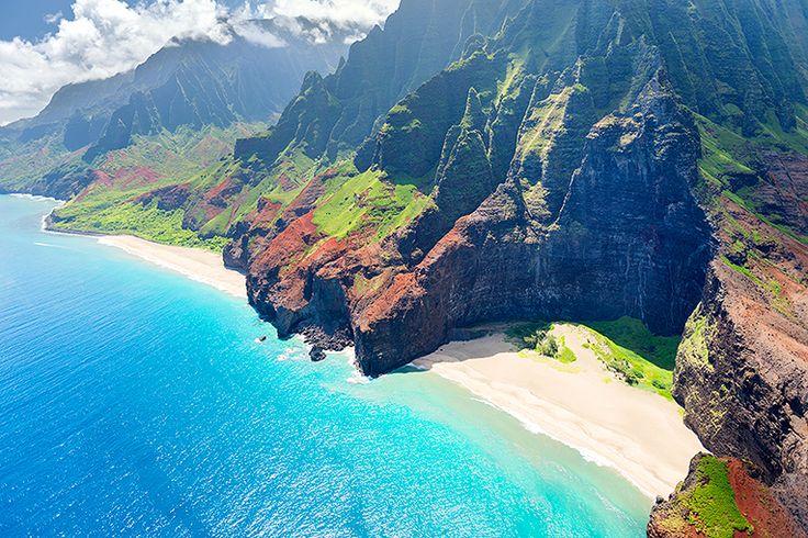 Na Pali-kusten #kauai #hawaii #napali #usa #travel #resa #semster