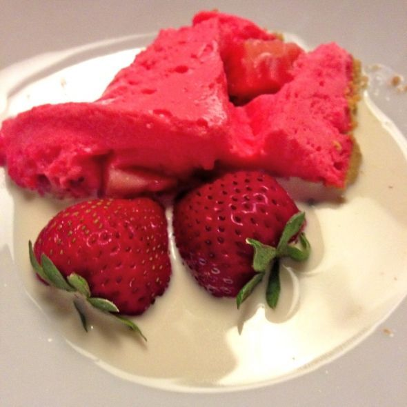 Wimbledon starts today! Here's the perfect easy strawberry recipe. Strawberry Flummery Tart