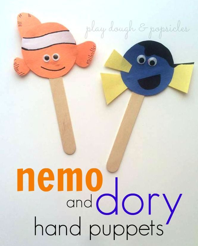 17 best ideas about puppet crafts on pinterest minion for Finding dory crafts for preschoolers