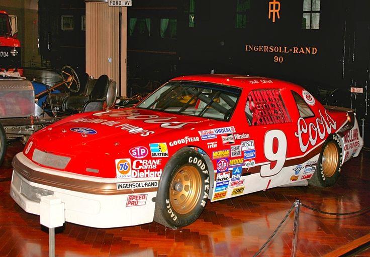 bill elliott racing | Bill Elliott's Ford Thunderbird, 1987 NASCAR winner: