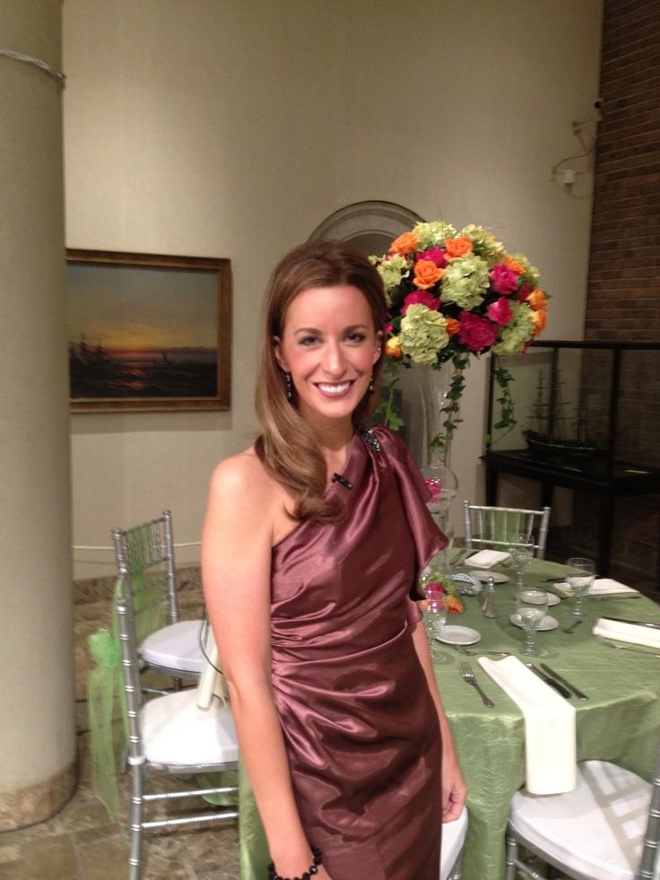 wfmj todays lauren lindvig looking gorgeous on wedding
