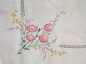 Hand Embroided Table Cloth