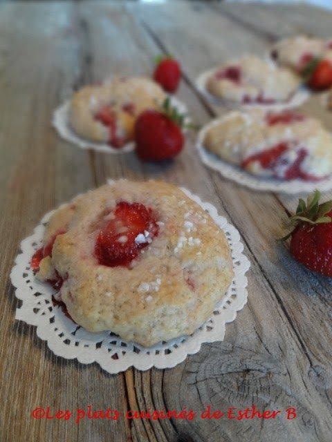 Enfin les fraises du Québec sont arrivées et voici mon premier dessert cuisiné avec celles-ci. Elles sont petites et légèrement sucrées. ...