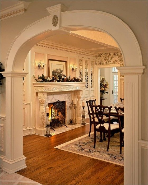Feast Your Eyes Gorgeous Dining Room Decorating Ideas: 17 Best Images About Dining Room Fireplaces On Pinterest
