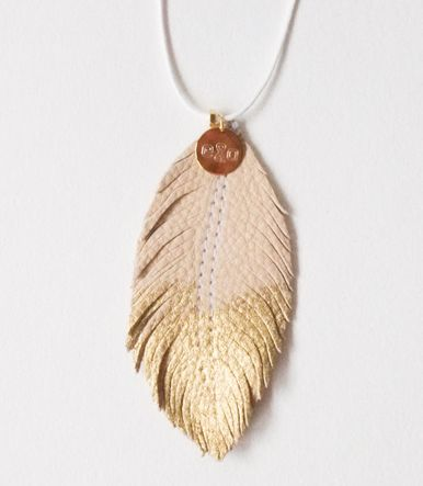 Kette NUDE FEATHER