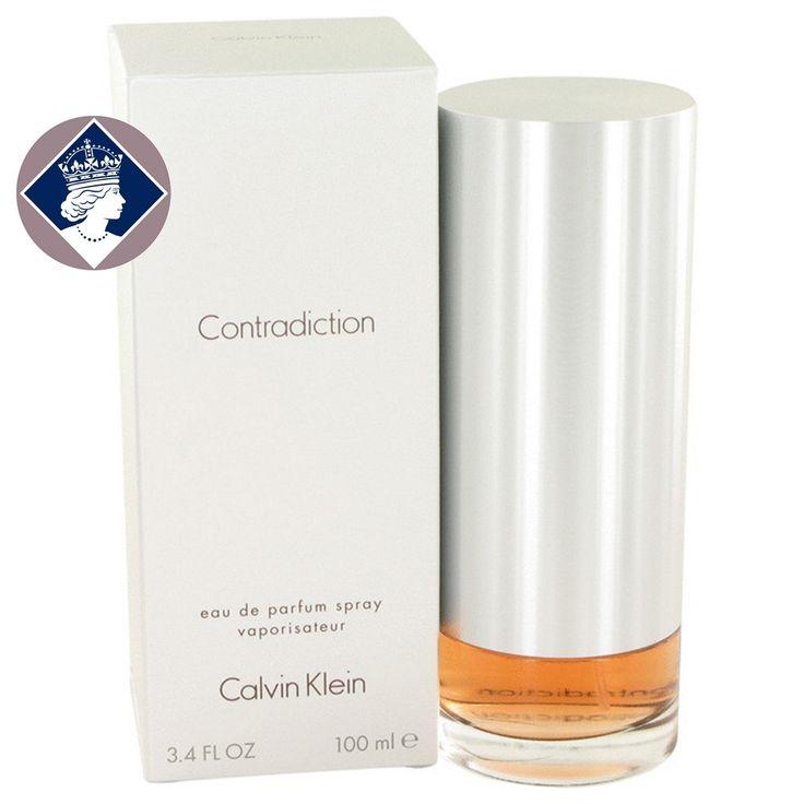 Calvin Klein Contradiction 100ml/3.4oz Eau De Parfum Spray EDP Perfume for Her