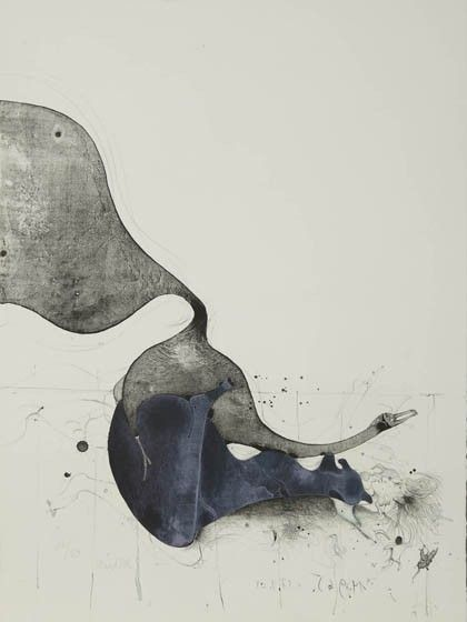 473: Paul Wunderlich, 'Leda and the swan', 1962 : Lot 473
