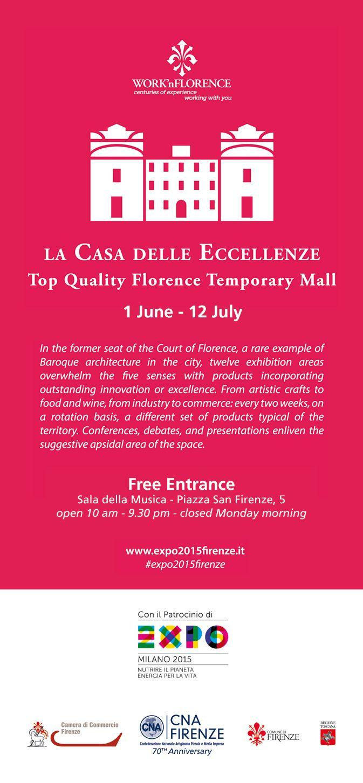Noi ci saremo dal 15 al 21 giugno, orario 10.00-21.30 e vi aspettiamo! We'll be there from 15 to 21 June, 10.30 am - 9.30 pm. We wait you! #florence #casadelleeccellenze #hats #noicisiamo