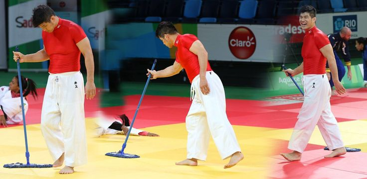 Kosei Inoue, World and Olympic champion. Coach of the Japanese national squad. One of the greatest players in the history of judo.Mat cleaner. How can this be?!? Inoue sensei is a judo legend as a competitor, teacher, and coach. Isn't pushing a mop below him? Shouldn't he simply leave such a menial task to someone … Continue reading Kosei Inoue: Judo Legend, Mat Cleaner