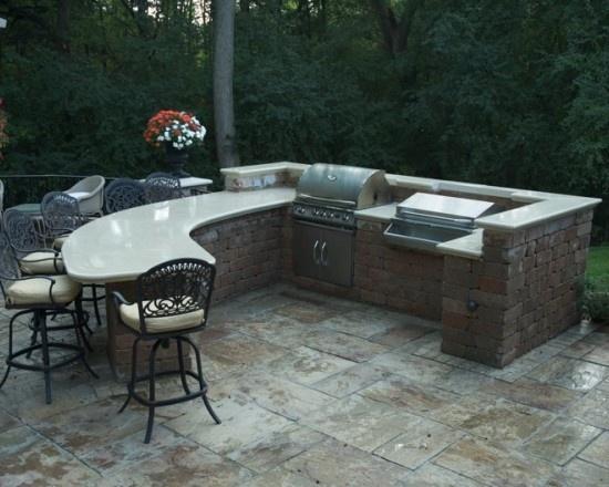 Outdoor Kitchen Decor 283 best outdoor kitchen ideas images on pinterest | backyard