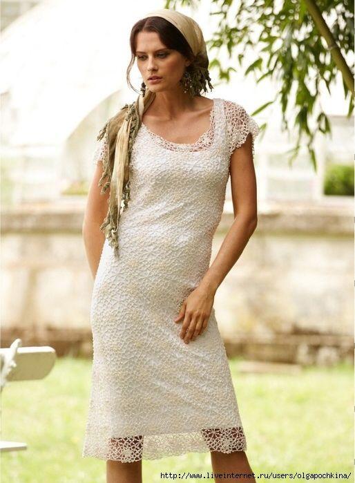 Платье от Peruvian Connection . Подбор схемы.. Обсуждение на LiveInternet - Российский Сервис Онлайн-Дневников