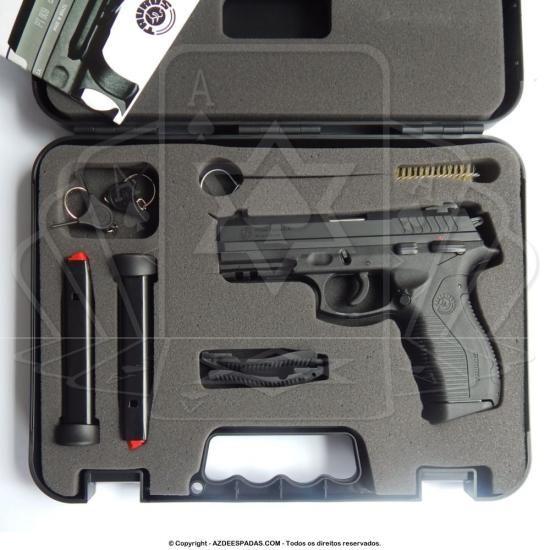 Pistola Taurus 838 Calibre 380 de 19 Tiros Oxidada - ARMAS ...