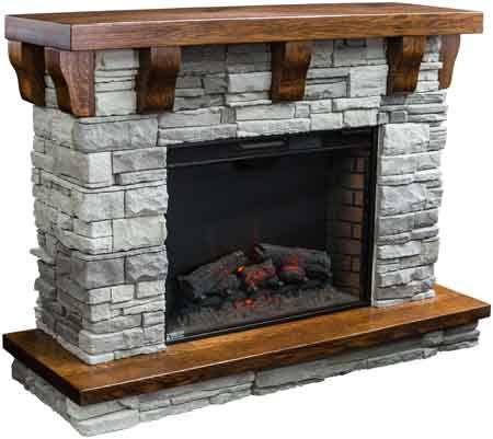 The 25+ best Amish fireplace ideas on Pinterest | River rock ...