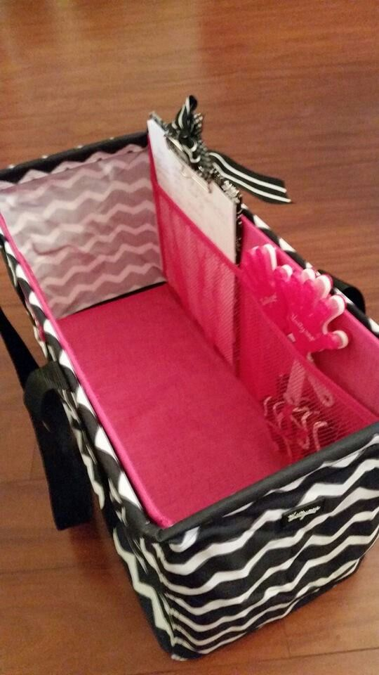 Brand new LUT insert!!! Keeps your LUT standing tall and provides useful mesh pockets! www.mythirtyone.com/diabeticmom