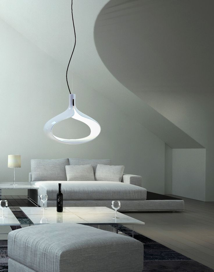 Perfect in any kind of contemporary space this design with its elliptic shape frames a