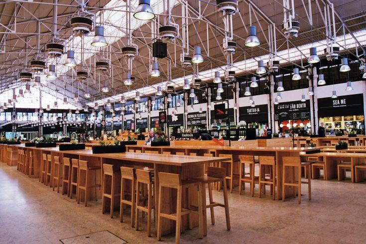New part, Mercado da Ribeira, Lisbon, Portugal
