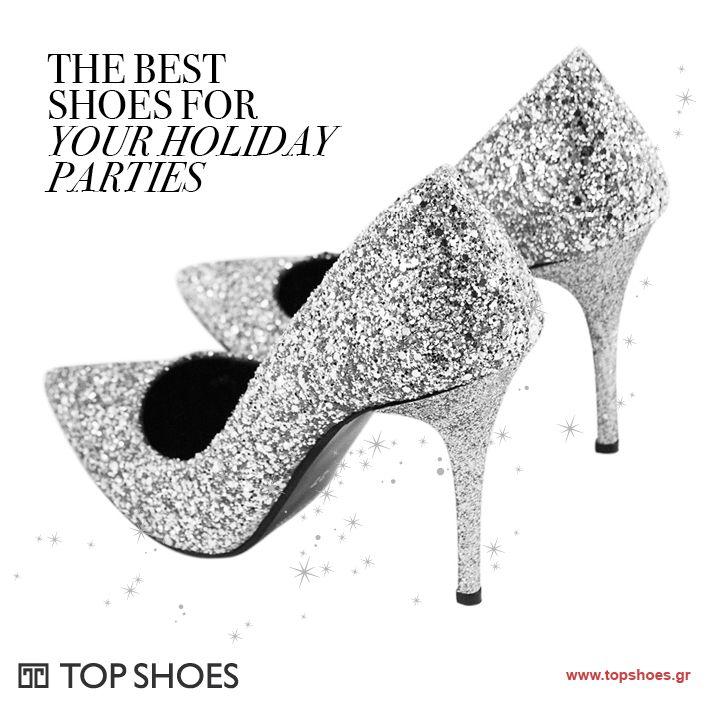 Its your time to shine!!! Όλη η λάμψη των γιορτών στα πόδια σου... με τις εκθαμβωτικές και εντυπωσιακές glitter γόβες, που θα σου χαρίσουν αξέχαστες γιορτινές εμφανίσεις!  Shop... smile... and shine!