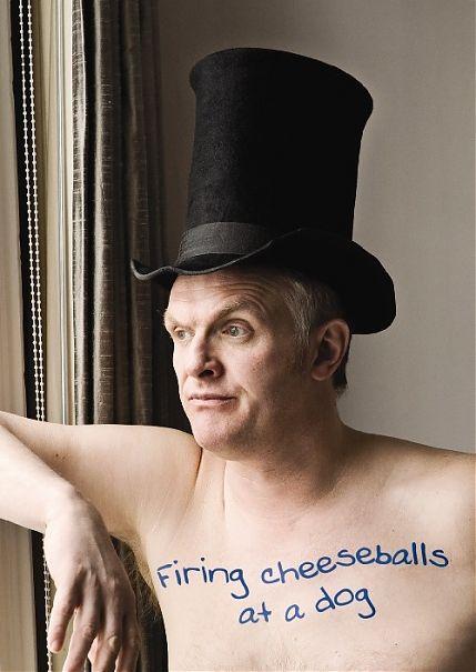 Greg Davies, award wininng Comedian