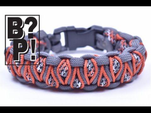 Make the 'Herringbone Stitched' Cobra Paracord Bracelet - Paracord.com - YouTube