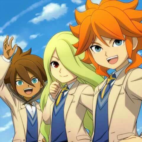 Amimya Taiyou & I don't remember names these 2 with he