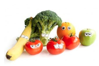 groente met eetbare oogjes - voor de startende etertjes
