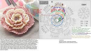 Картинки по запросу схемы вязания крючком цветов