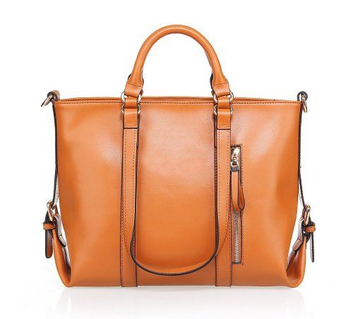 Fineplus Women'S Large Roomy Leather Multifunctional Shoulder Tote Bag 68