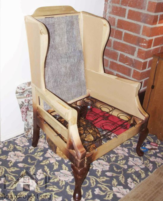 34 Best How To Reupholster A Wingback Chair Images On Pinterest |  Armchairs, Wing Chairs And Chairs
